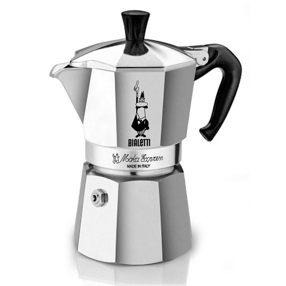Bialetti 06800 Moka Express Coffee Maker - 6 Cups | BeverageFactory.com