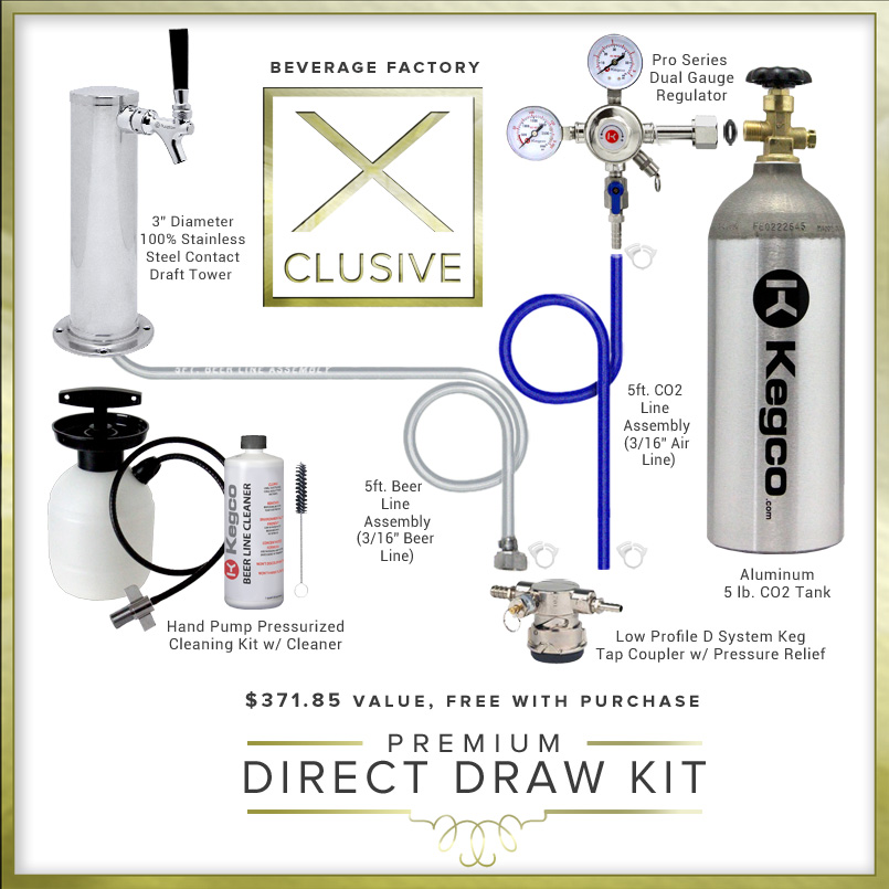 X-CLUSIVE Premium Direct Draw Kit.
