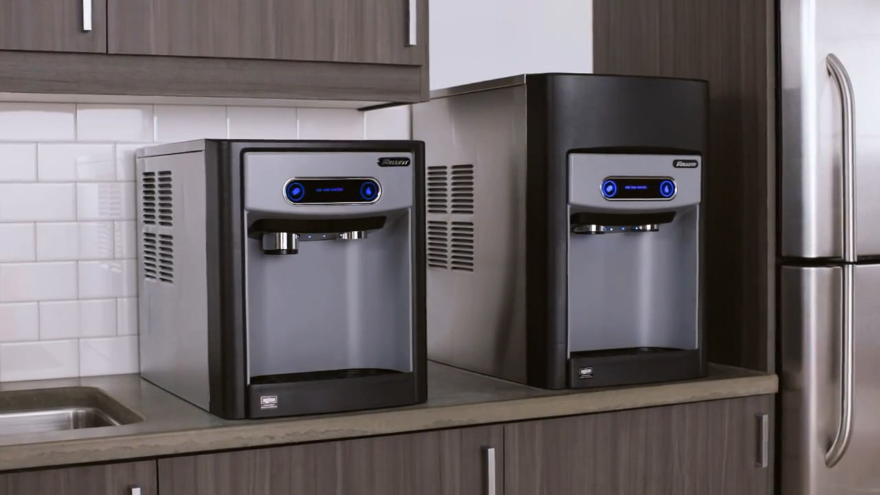 machine chewable filtered dispenser lbs water quench and product office countertops tilt countertop ice