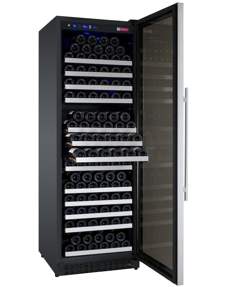 refrigerator racks. glide-out wine rack shelves refrigerator racks t
