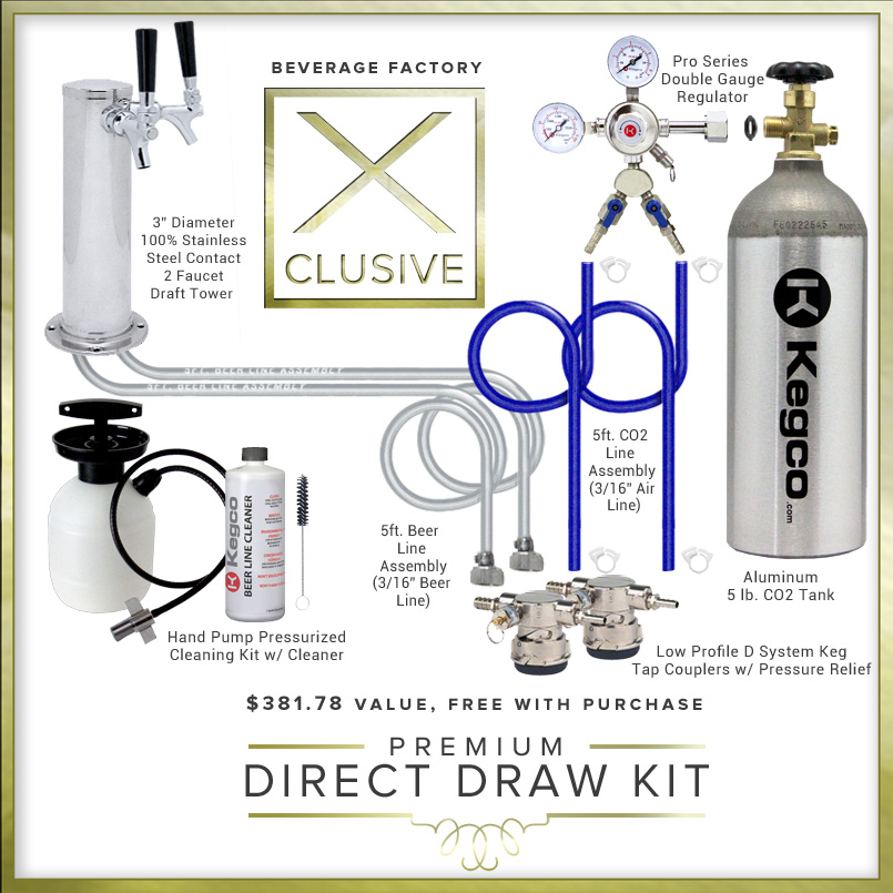 X-CLUSIVE Commercial Direct Draw Kit.