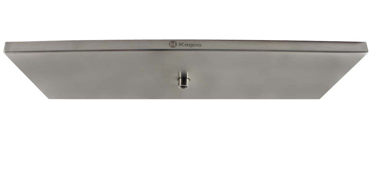 Kegco SESM-189D 18 x 9 Surface Mount Drip Tray with Drain