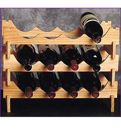 Photo of 18 Bottle Modular Wine Rack