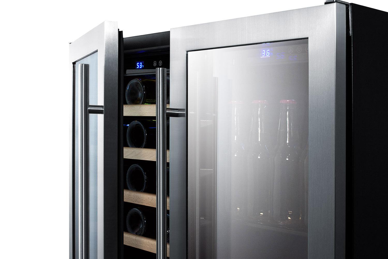 Undercounter Drink Refrigerator Summit Swbv3001 30 Wide Built In Undercounter Wine And Beverage