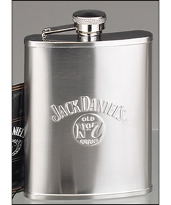 Photo of Jack Daniel's 6 Ounce Satin Liquor Flask - 6 oz.