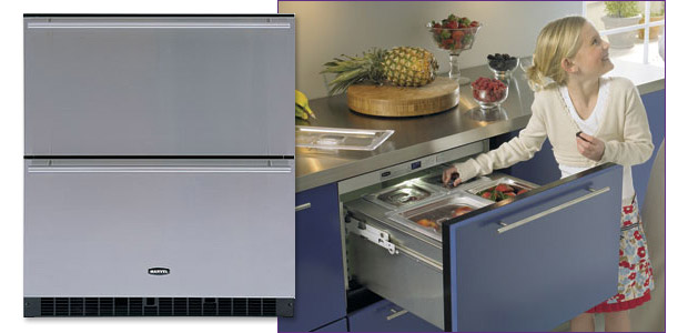 Photo of Marvel 80RDE-BS-F Sentry Digital Drawer Refrigerator