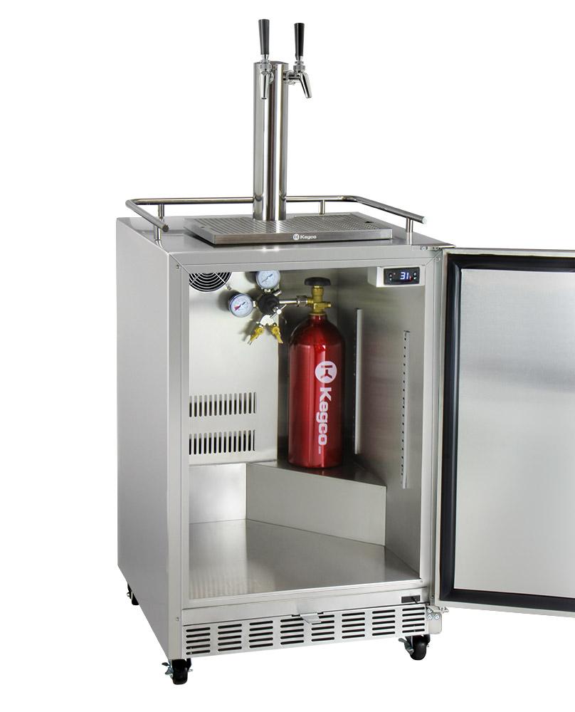 Beer tap systems for home - Kegco Hk38ssc 2 Kegerator