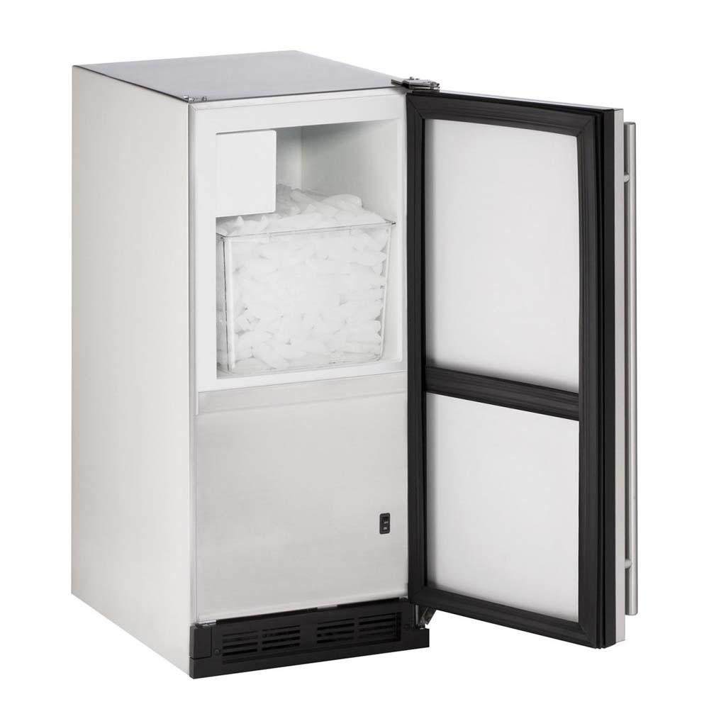 Outdoor Ice Maker   Stainless Steel Cabinet With Stainless Steel Door