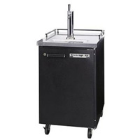 Commercial Beer Cooler - Black Vinyl