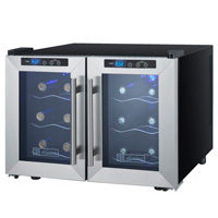 Cascina Series Thermoelectric 12 Bottle Dual Zone Wine Refrigerator