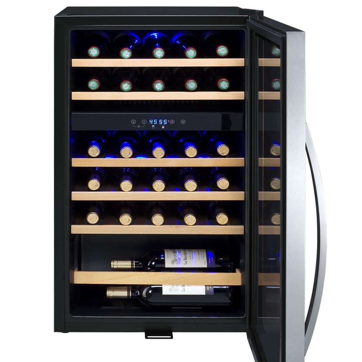 allavino cdwrswt cascina series  bottle dual zone wine  - cdwrswt racks
