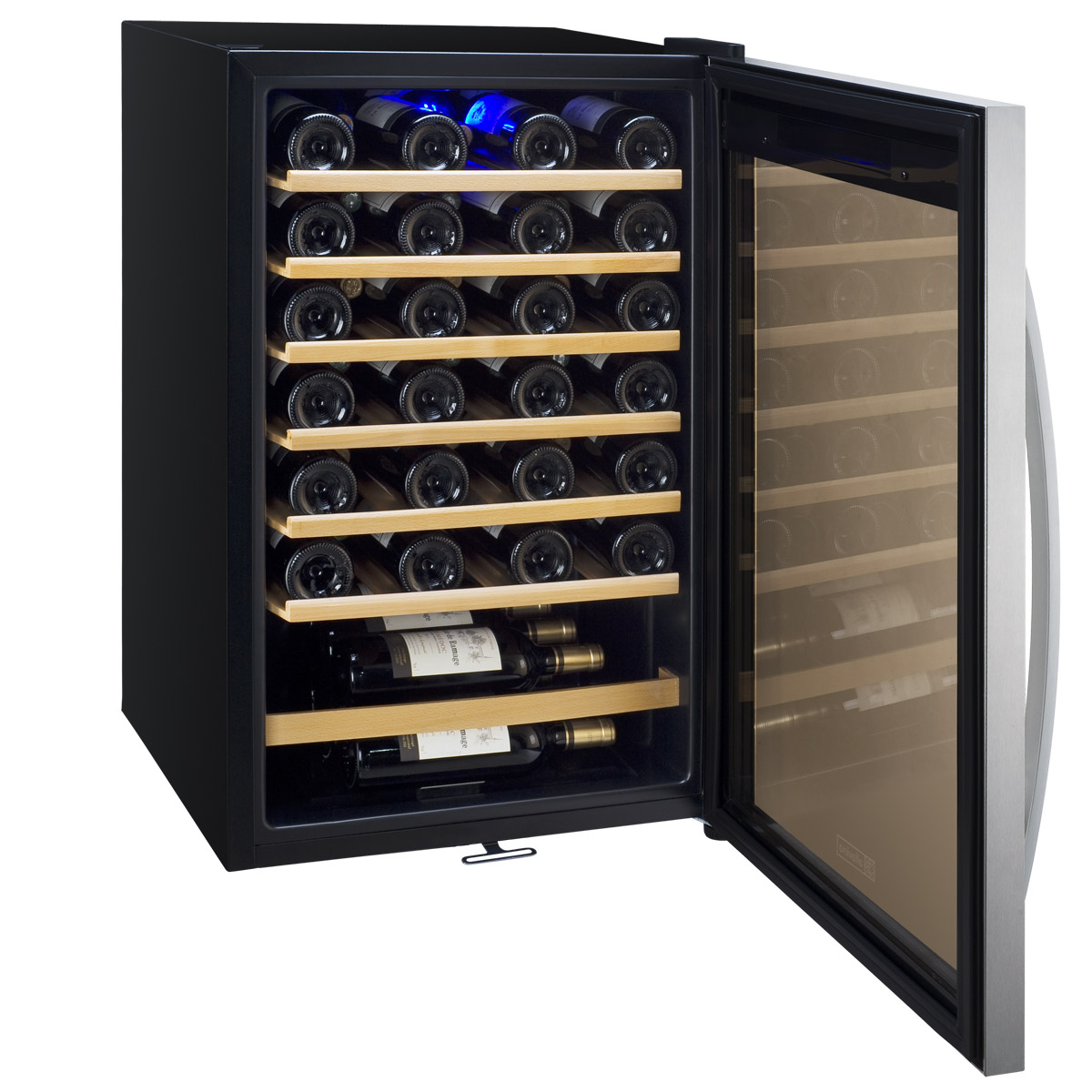 Wine Bottle Storage Angle Allavino Cdwr48 1swt Cascina Series 48 Bottle Wine Refrigerator