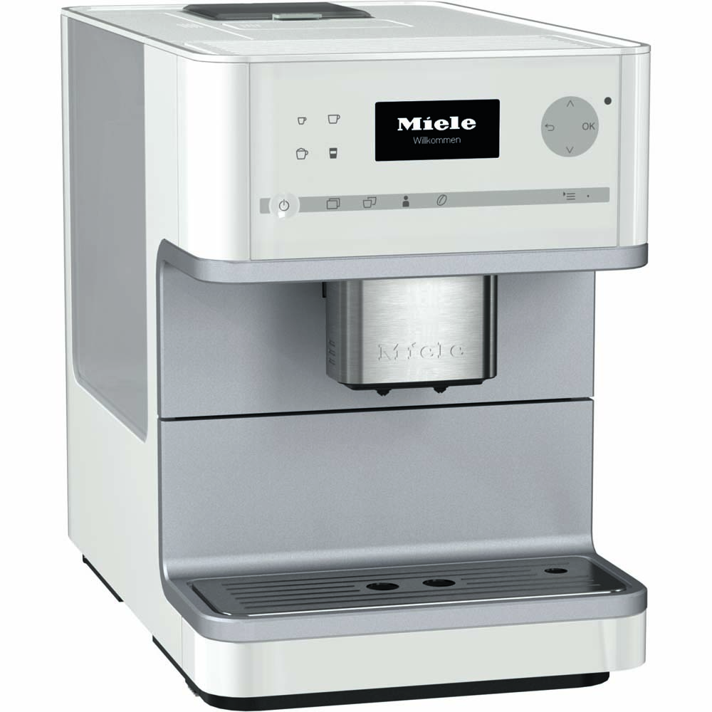 Miele CM 6110 White Coffee System | BeverageFactory.com