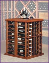 Photo of Designer Series Wine Tasting Table Wine Rack