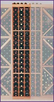 Photo of Designer Series Inidividual 60 Bottle Wine Racks