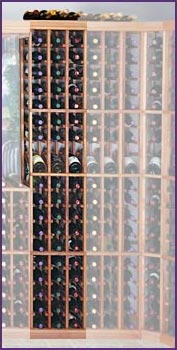 Photo of Designer Series Inidividual 95 Bottle Wine Racks