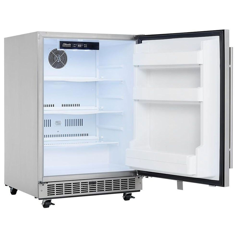 Refrigerator Outdoor Danby Silhouette Professional Aragon Dar055d1bsspro Outdoor