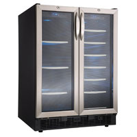 Silhouette Emmental Built-In 27-Bottle, 60-Can Dual Zone Beverage Center