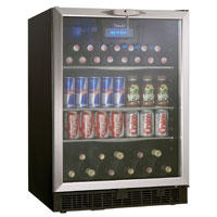 Silhouette Ricotta 5.3 Cu. Ft. Beverage Center - Stainless Steel Door