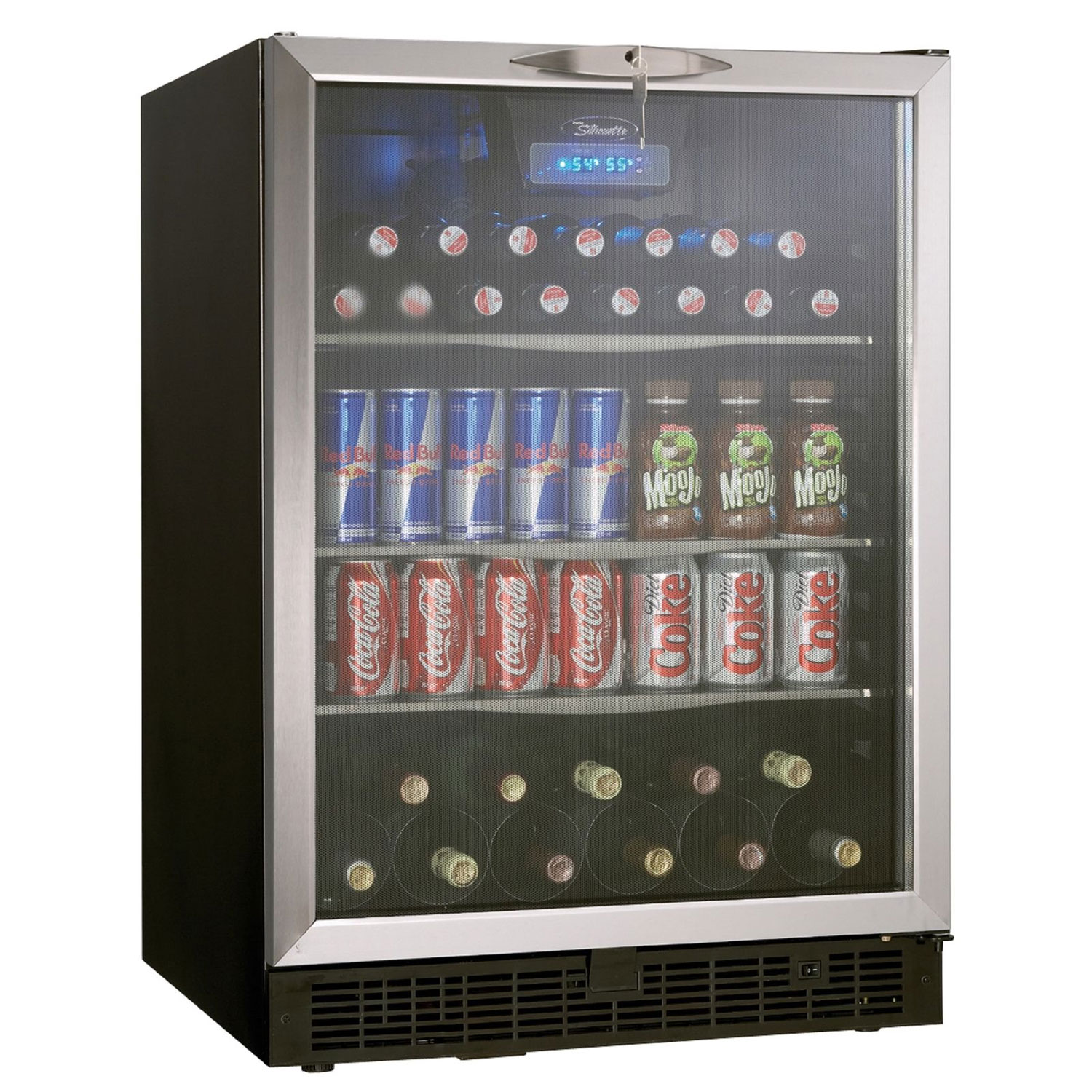 Danby Silhouette Ricotta Dbc514bls 5 3 Cu Ft Beverage Center Stainless Steel Door