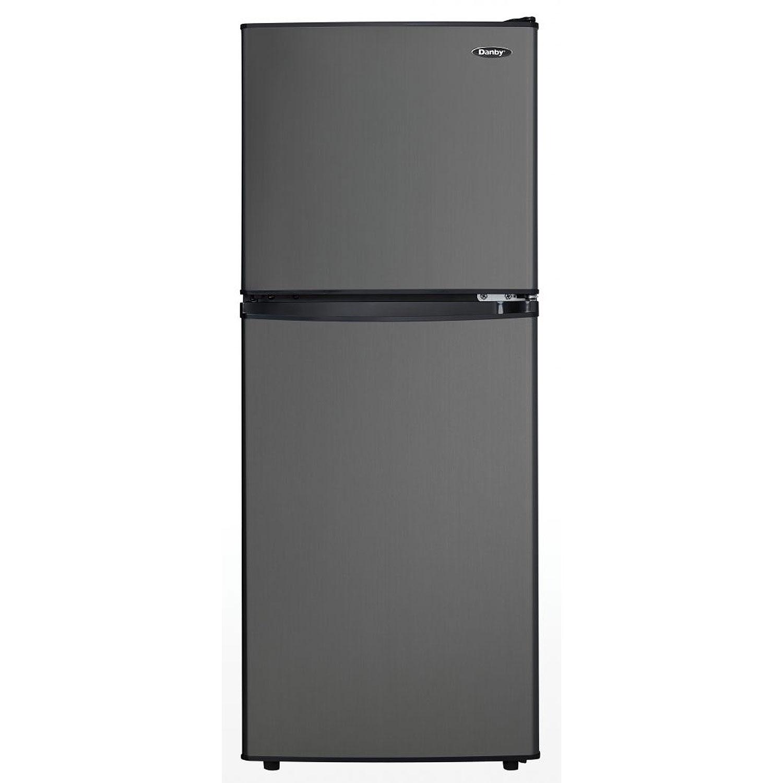 Danby Dcr047a1bbsl 4 7 Cubic Foot Dual Door Refrigerator