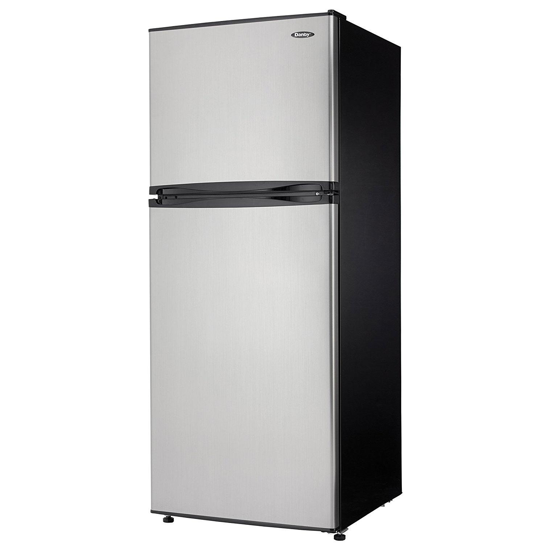 danby dff100c1bsldb 10 cu ft frost free refrigerator with. Black Bedroom Furniture Sets. Home Design Ideas