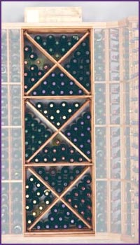 Photo of Designer Series Open Diamond Wine Rack