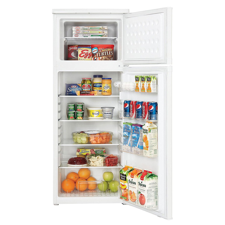 Danby DPF073C1WDB 7.3 Cu Ft Refrigerator with Top Mount Freezer ...