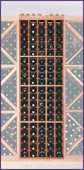 Photo of Designer Series Inidividual 100 Bottle Wine Rack