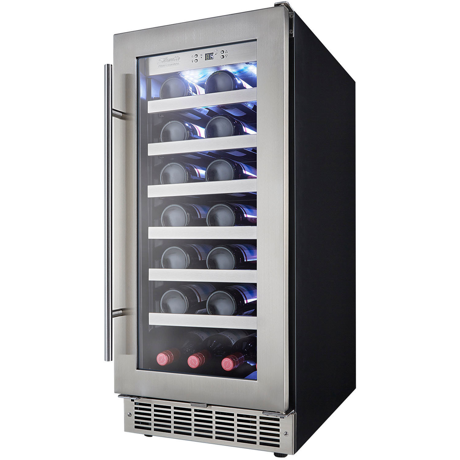 silhouette tuscany 28 bottle builtin wine cooler - Built In Wine Cooler