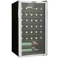 35-Bottle Wine Cooler - Platinum Door Trim