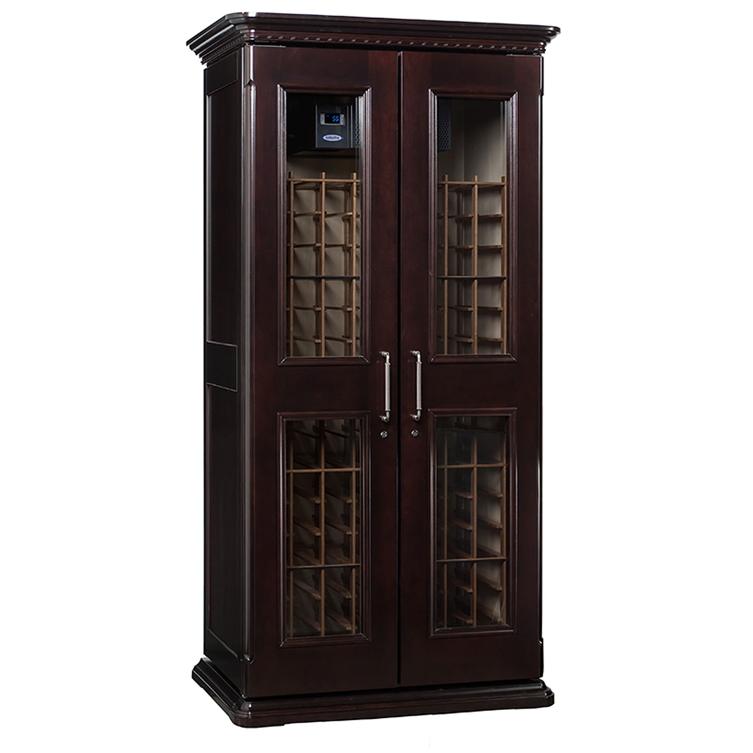 Le Cache European Country Euro 2400 Wine Cellar Cabinet