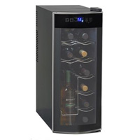 12-Bottle Thermoelectric Wine Cooler Refrigerator