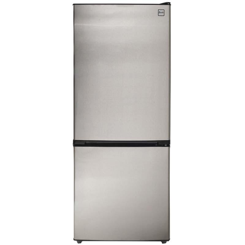 FFBM102D3S  sc 1 st  BeverageFactory.com & Avanti 10.2 Cu. Ft. Two Door Frost Free Refrigerator - Black Cabinet ...