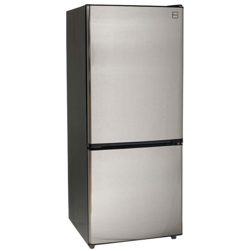 Avanti 10.2 Cu. Ft. Two Door Frost Free Refrigerator - Black ...