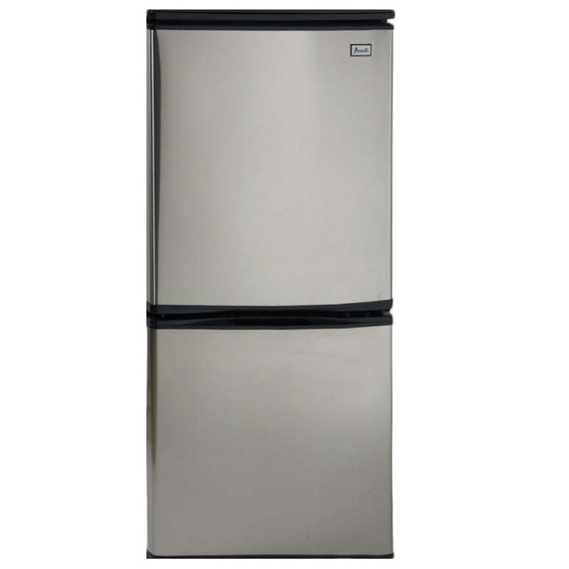 Avanti 4.5 Cu. Ft. Two Door Frost Free Refrigerator - Black Cabinet ...