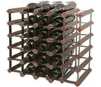 Photo of Bordex 30 Bottle Wine Rack - Cherry Finish