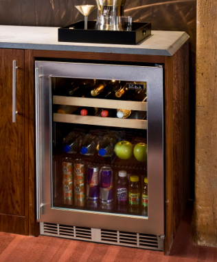 Perlick hp24bs 3 3r 24 signature series beverage center stainless highlights planetlyrics Image collections