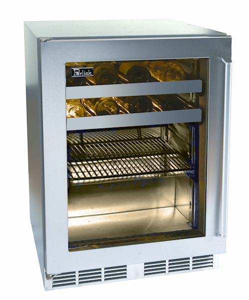Perlick Hp24bo 3 3r 24 Outdoor Signature Series Beverage Center