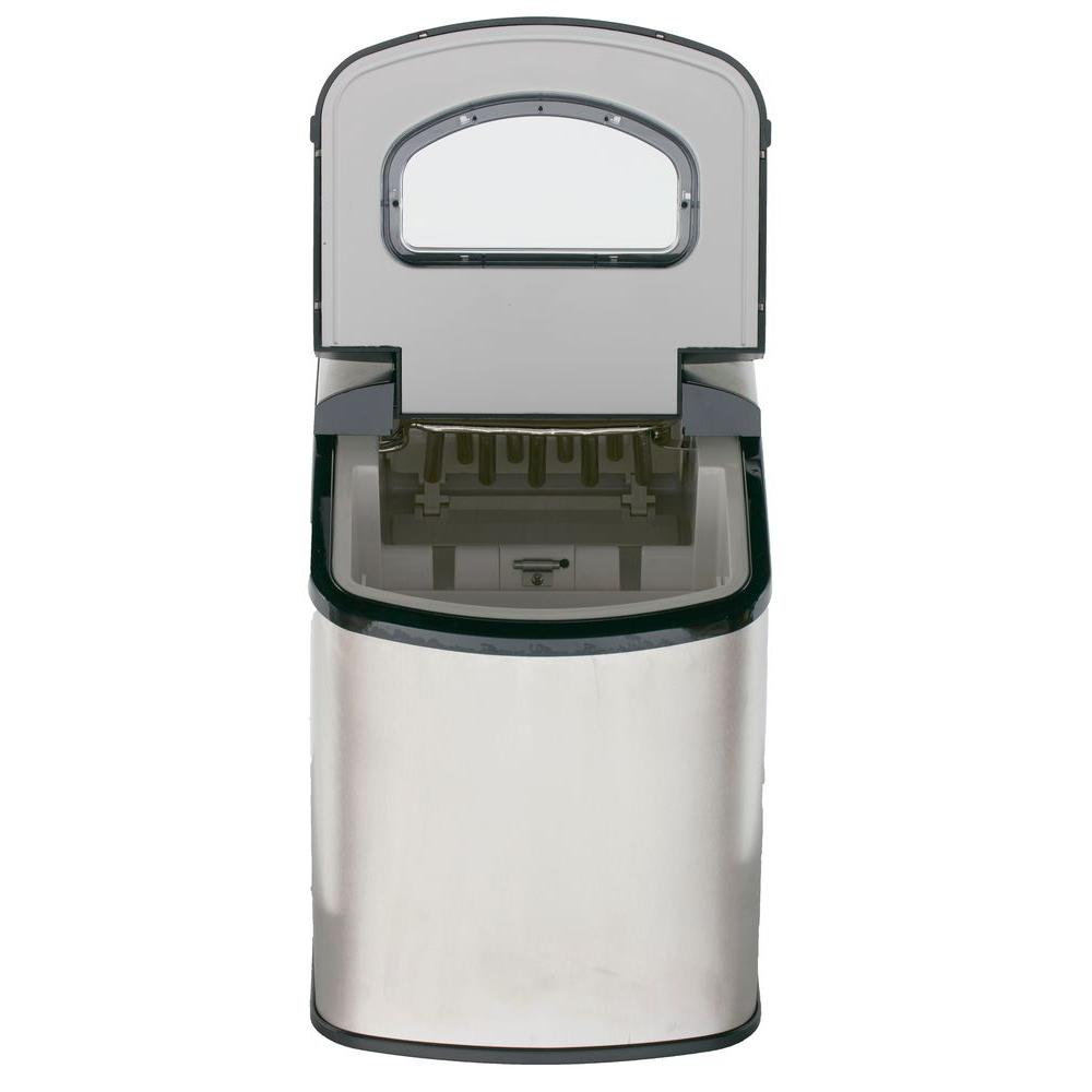 Danby Countertop Ice Maker Stainless Steel : ... Portable Countertop Ice Maker - Stainless Steel BeverageFactory.com