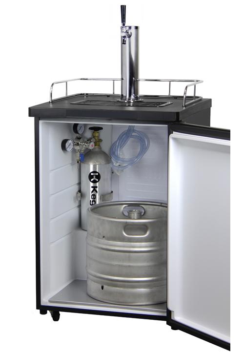Kegco K209ss 1 Full Size Single Faucet Draft Beer