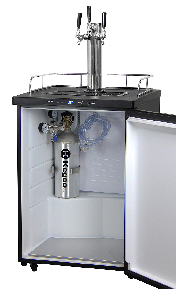 Beer tap systems for home - K309ss 3 Draft Beer Dispenser