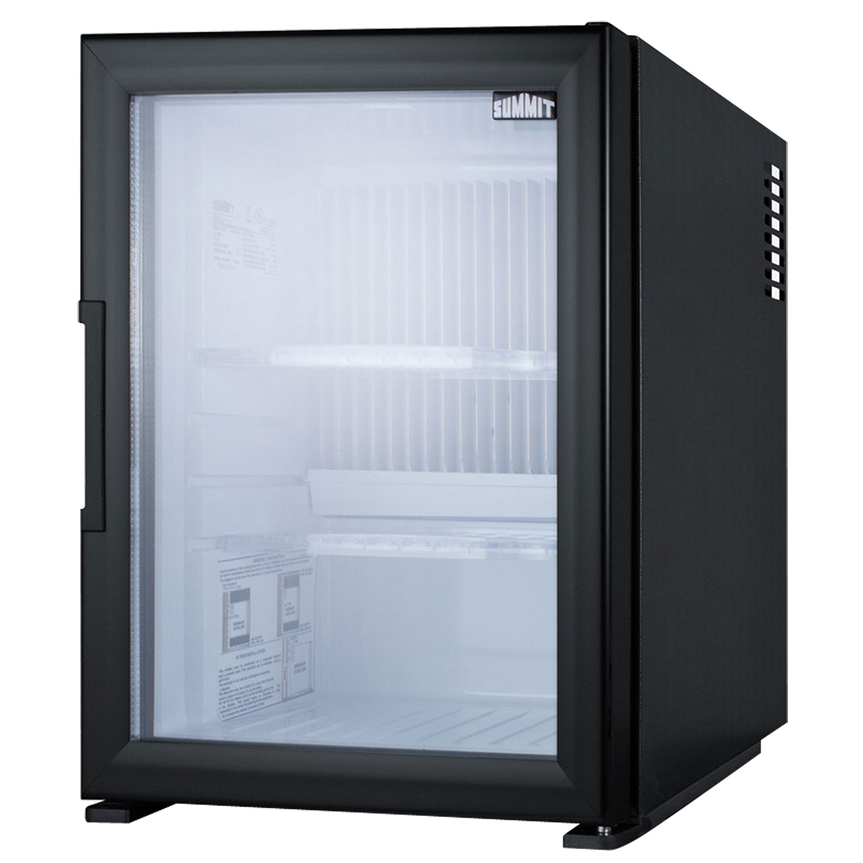 summit mbh32gl silent hotel minibar refrigerator black with