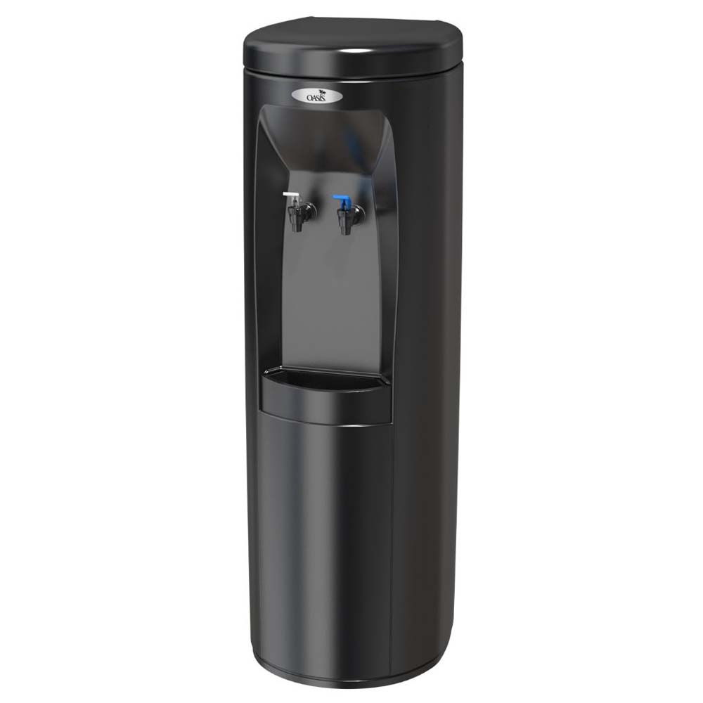 Refrigerated Water Dispenser Oasis 504007 Poud1sk Cook N Cold Water Cooler Black W Ss