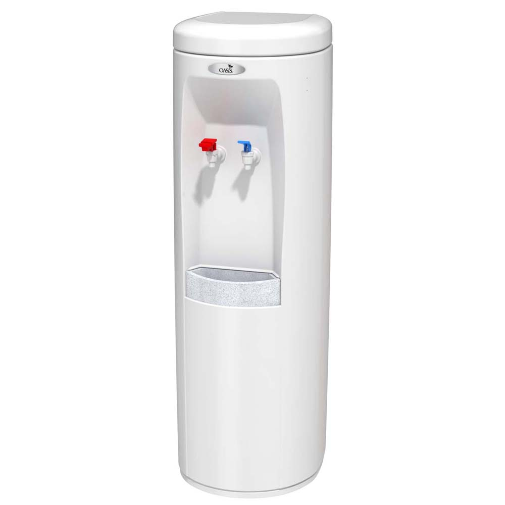 Refrigerated Water Dispenser Oasis 504008 Poud1shs Hot N Cold Water Cooler White W Ss