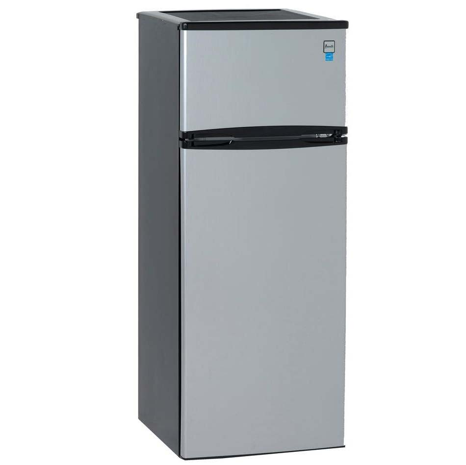 Apartment Fridge: Avanti 7.4 Cu. Ft. Two Door Apartment Refrigerator