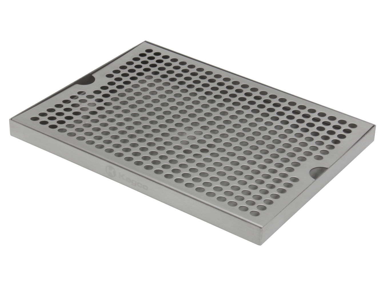 Kegco Stainless Steel 12 x 9 Surface Mount BEER Drip Tray No Drain