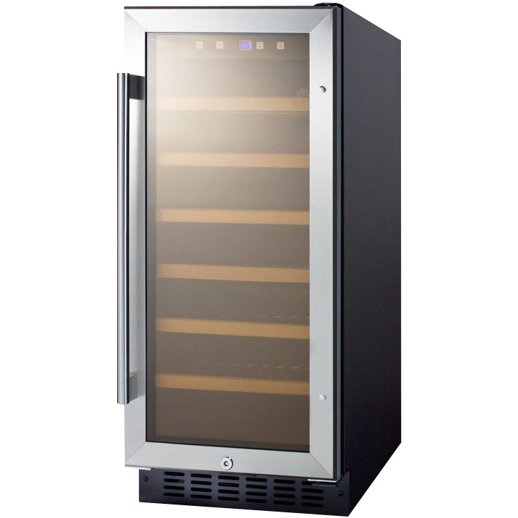 swc1535b wine - Built In Wine Cooler