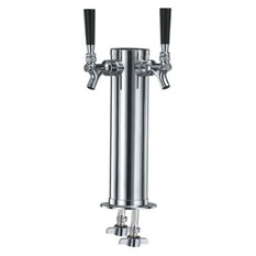 Standard Two Faucet Draft Beer Towers