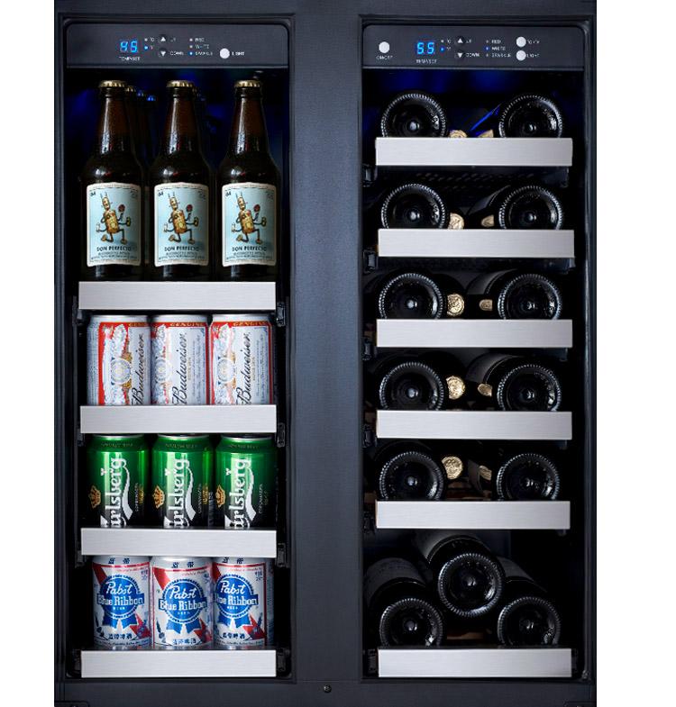 dual zone beverage cooler - Beverage Coolers